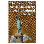 Liberty is Countercultural Large Poster