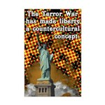 Liberty is now a countercultural concept Poster