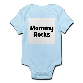 Mommy Rocks Infant Creeper