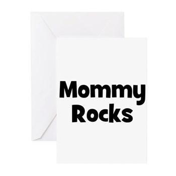 Mommy Rocks Greeting Cards (6)