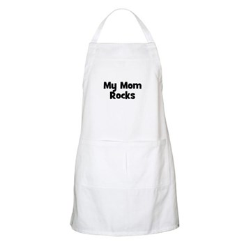 My Mom Rocks BBQ Apron