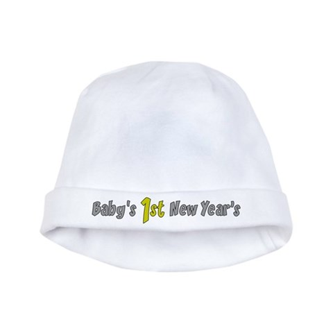 Baby's First New Year's  Holidays / occasions baby hat by CafePress