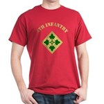 4th Infantry Division Dark T-Shirt