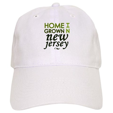 'New Jersey'  I love Cap by CafePress