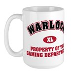 Warlock: Property of the Gaming Department. Wow Warlock or Warlocks of other kinds will enjoy this design.