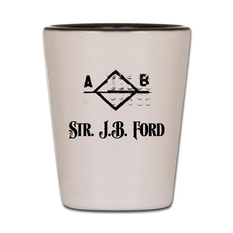 - J.B. Ford Plimsoll Design  Shot Glass by CafePress