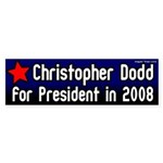 Christopher Dodd for President Bumper Sticker