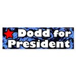 Chris Dodd for President Bumper Sticker for Campaign 2008