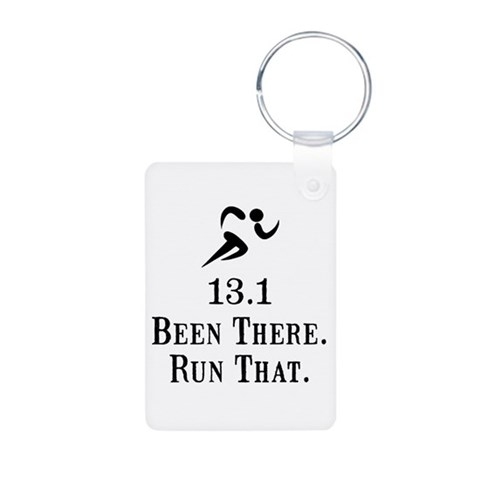 13.1 Been There Run That  Funny Aluminum Photo Keychain by CafePress