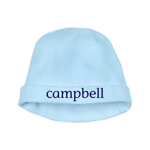 Campbell  Family baby hat by CafePress