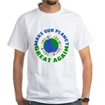Make Planet Great White T-Shirt