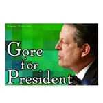 Eight Gore for President Postcards