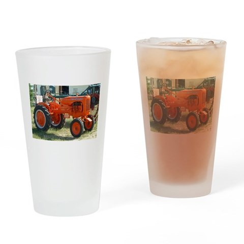 1937 Allis Chalmer Tractor  Unique Drinking Glass by CafePress