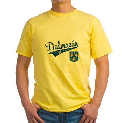 Product Image of Dalmacija Yellow T-Shirt