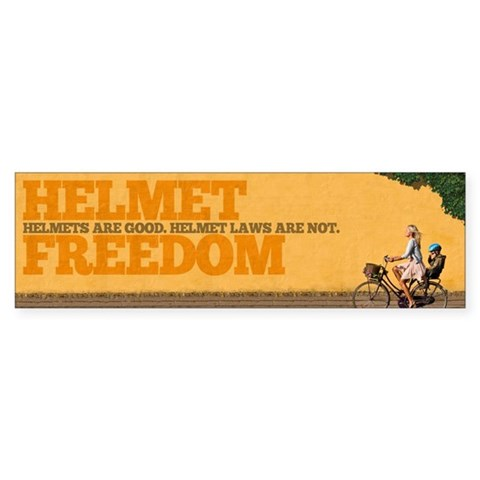 Woman with Helmeted Child 10 Pack  Bumper Sticker 10 pk by CafePress