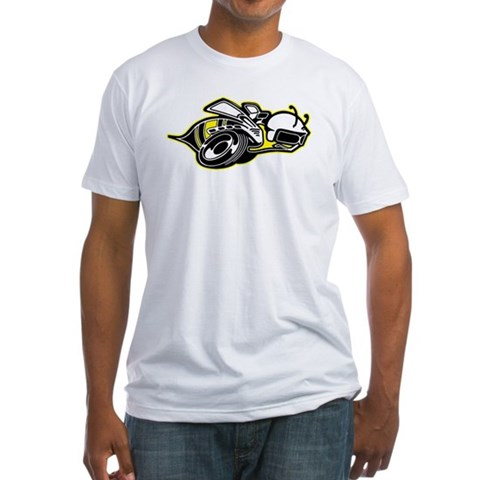 Product Image of Super Bee Basic Fitted T-Shirt
