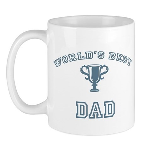World's Best Dad Dad Mug by CafePress