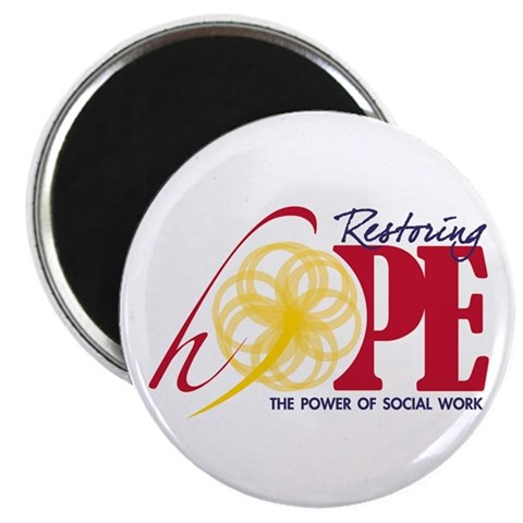 2012 Restoring Hope 2.25quot; Magnet 10 pack Social work 2.25 Magnet 10 pack by CafePress