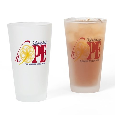 2012 Restoring Hope  Hope Drinking Glass by CafePress