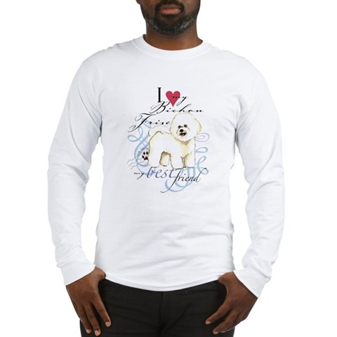 Bichon Frise Pets Long Sleeve T-Shirt by CafePress