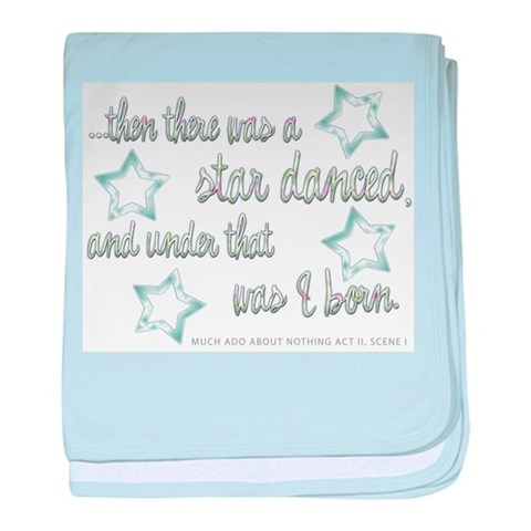 A Star Danced  Baby baby blanket by CafePress