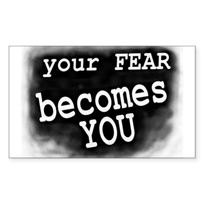Your Fear Becomes You Bike Sticker