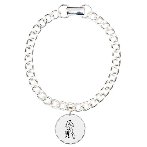 Dance  Music Charm Bracelet, One Charm by CafePress