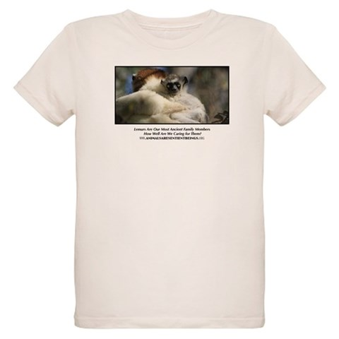 AASB Lemur  Animals Organic Kids T-Shirt by CafePress
