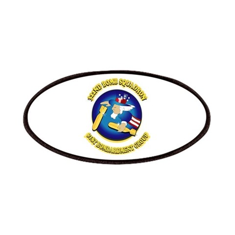 322ND BOMB SQUADRON  Military Patches by CafePress