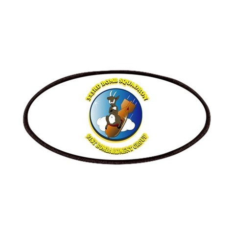 423RD BOMB SQUADRON  Military Patches by CafePress