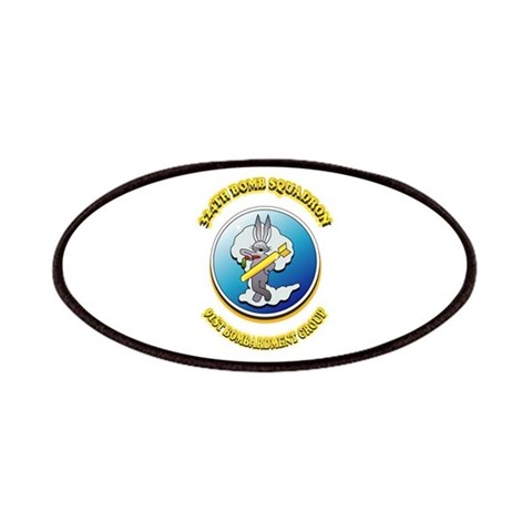 324TH BOMB SQUADRON  Military Patches by CafePress