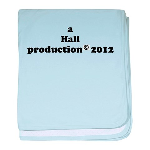 Baby Production 2012 - last n  Funny baby blanket by CafePress