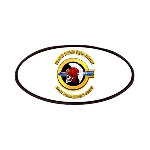 533RD BOMB SQUADRON  Military Patches by CafePress