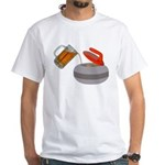 Fueled By Beer White T-Shirt