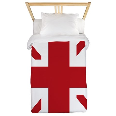 Union jack Twin Duvet by CafePress