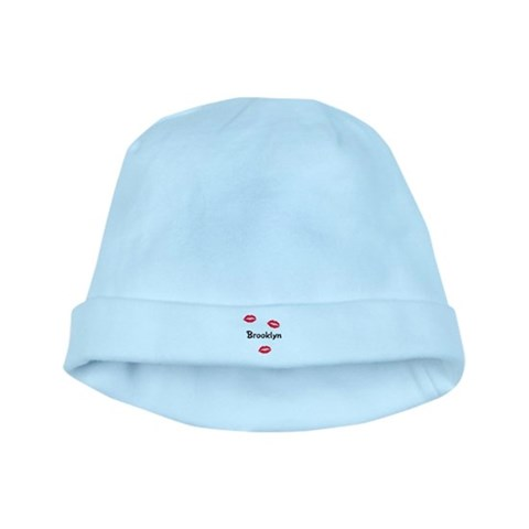 Brooklyn kisses  Family baby hat by CafePress