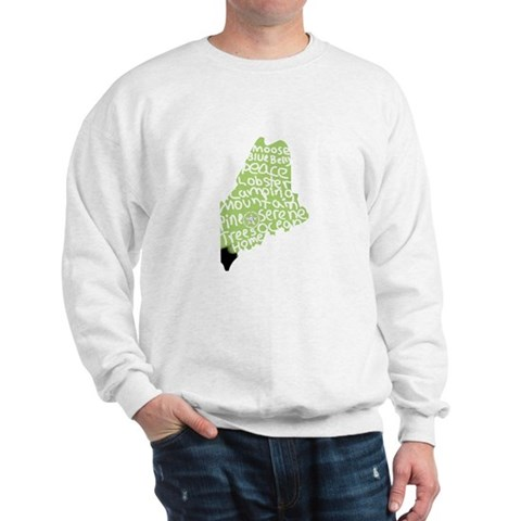 maine Cool Sweatshirt by CafePress