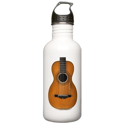 1890's Parlor Guitar  Music Stainless Water Bottle 1.0L by CafePress