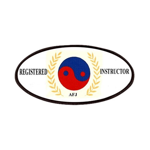 AFJ Instructor  Sports Patches by CafePress