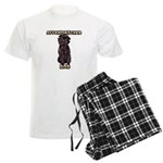 Affenpinscher Dad Men's Pajamas