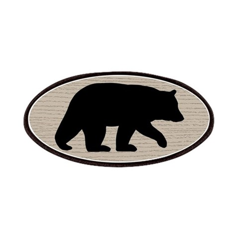 Black Bear  Animals Patches by CafePress