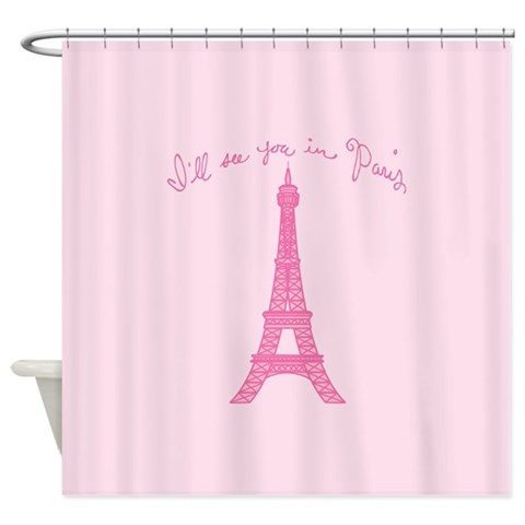 Paris Shower Curtain by CafePress