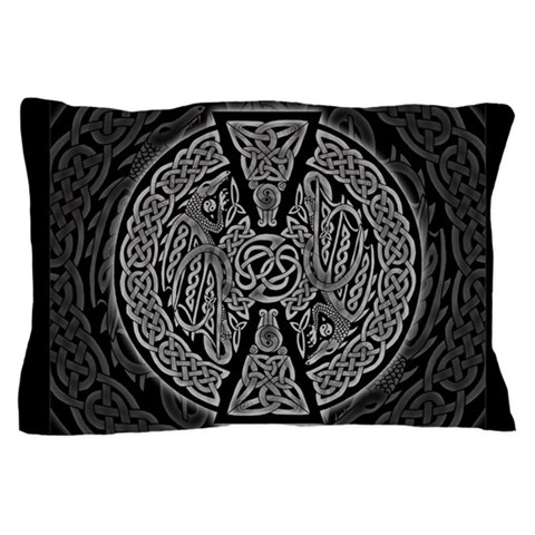 Celtic Dragons  Art Pillow Case by CafePress