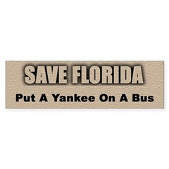 Save Florida Bumper Sticker