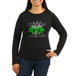 Knock Out Cerebral Palsy Women's Long Sleeve Dark