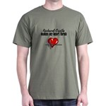 Richard Castle makes my heart throb T-Shirt