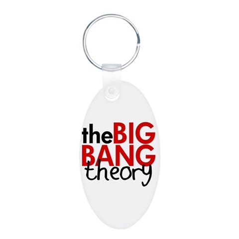 Big Bang TV  Funny Aluminum Oval Keychain by CafePress