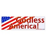 Godless America Bumper Sticker!