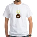 White nigga know cartoon logo t-shirt!!!