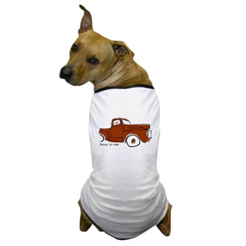 Product Image of Ride it! Dog T-Shirt